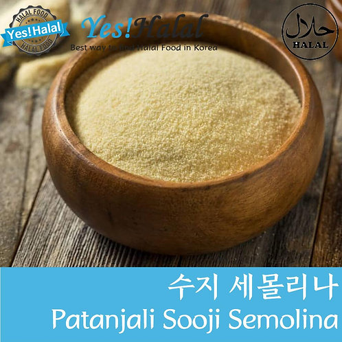 Sooji Semolina Durum Sheat Flour (India, Patanjali, 1Kg)