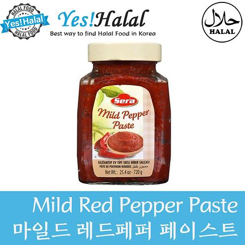 Mild Red Pepper Paste (Turkey, Sera, 720g)