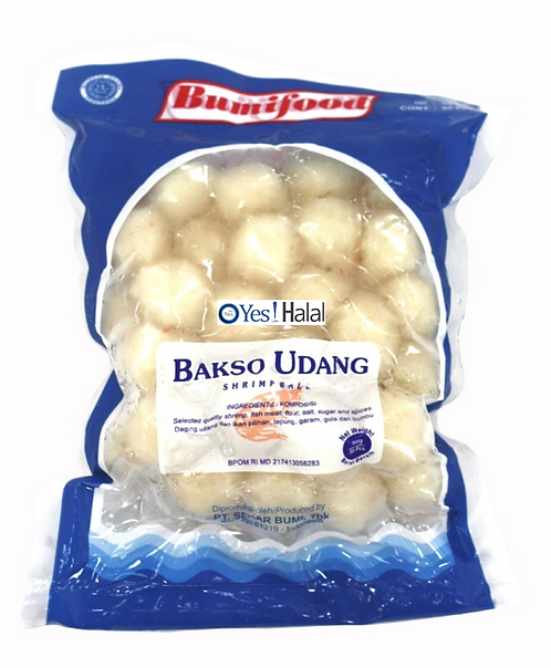 Shrimp Meat Ball (Bakso Udang)