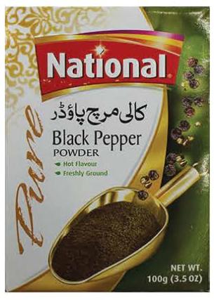 Black Pepper (Pakistan, National, 100g)