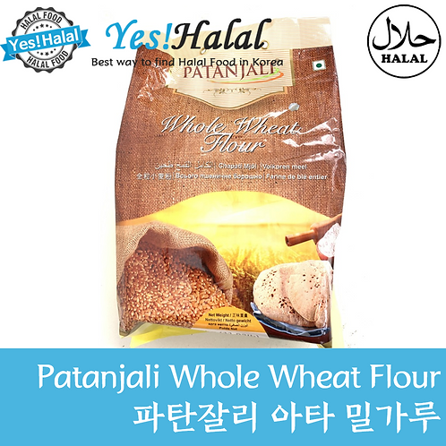 Atta Whole Wheat Flour (India, Patanjali, 5kg)