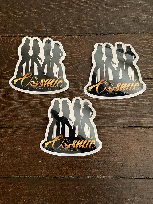 Limited Cosmic Stickers