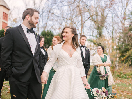 A Winter Fairytale Wedding at Cloisters Castle
