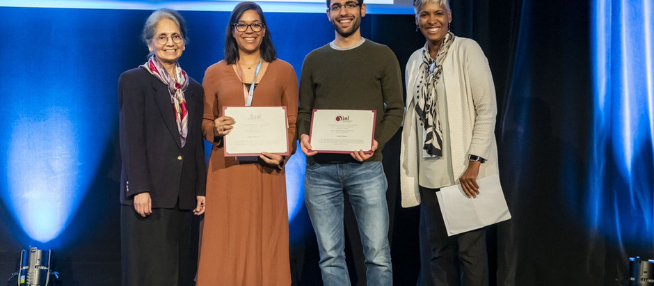 Yassen awarded Laxmi Baxmi prize at SRI in Paris