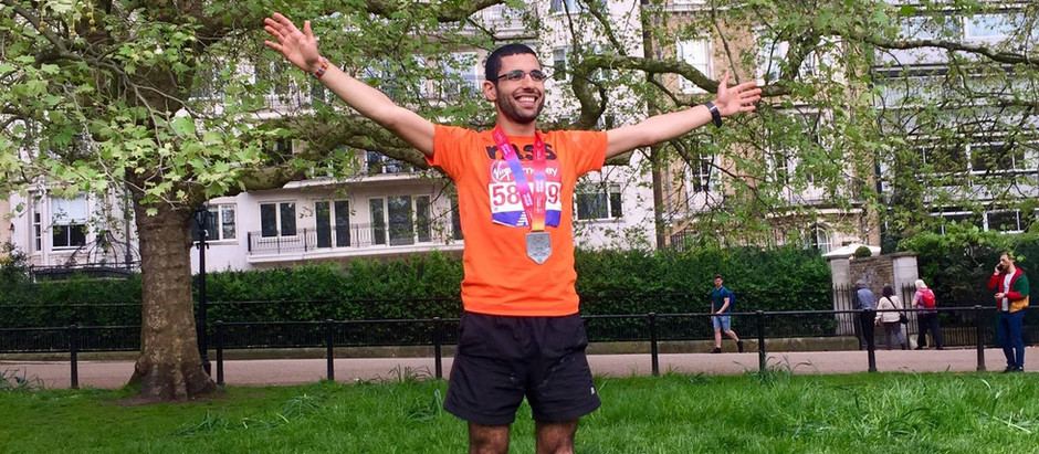 Well done to Yassen who ran the London marathon this year