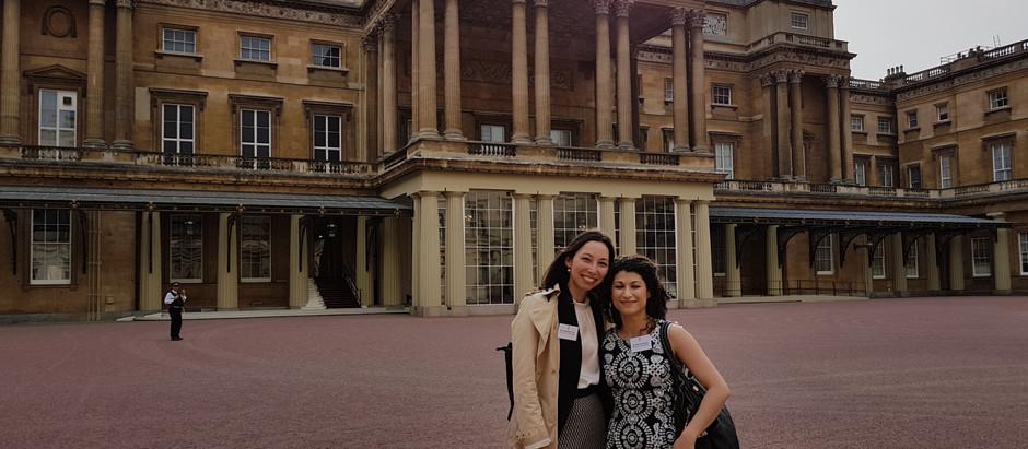 Margherita visits Buckingham palace