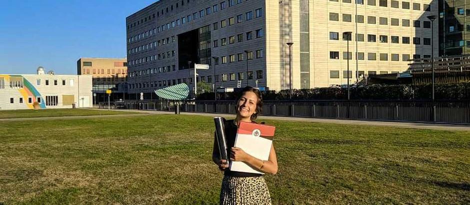 Konstantina graduates this summer