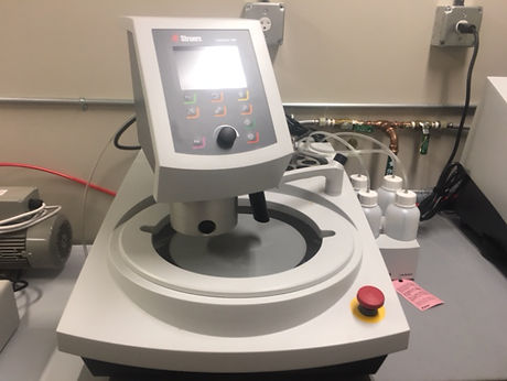 Struers sample preparation equipment