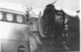 High strain-rate catastrophic engine failure