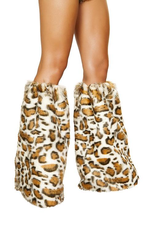 4890 - Pair of Leopard Leg Warmers
