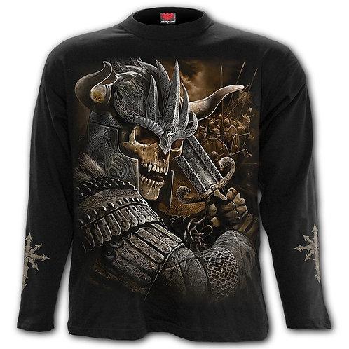 VIKING WARRIOR - Longsleeve T-Shirt Black