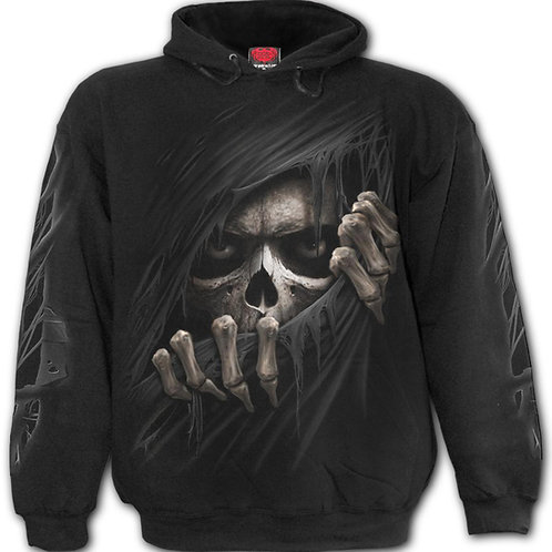 GRIM RIPPER - Hoody Black (Plain)