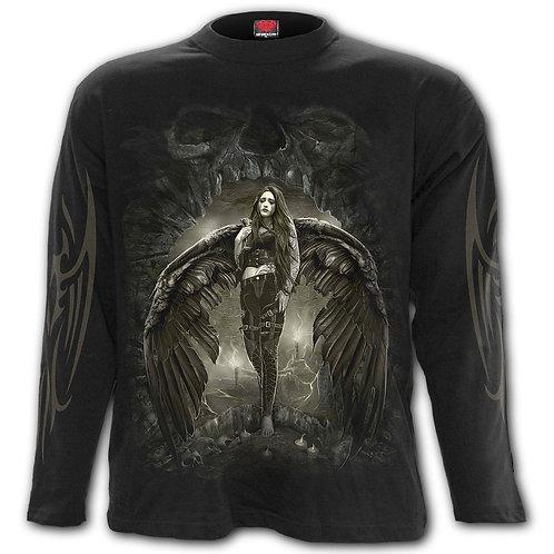 DARK ANGEL - Longsleeve T-Shirt Black