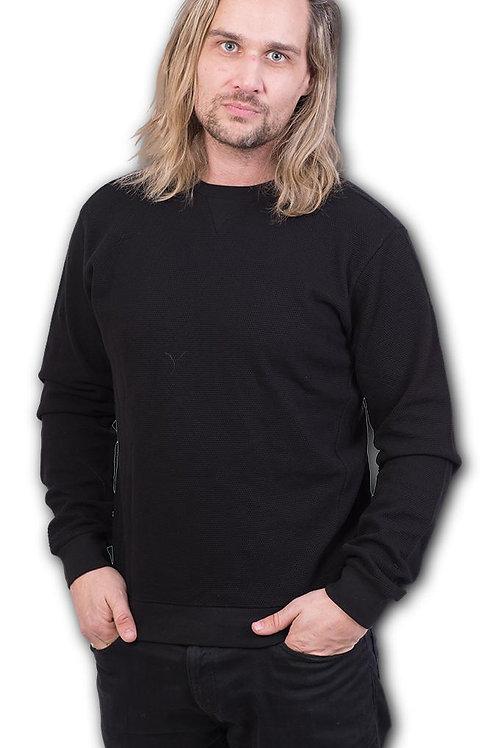 URBAN FASHION - Heavy Pique Sweat Shirt  (Plain)