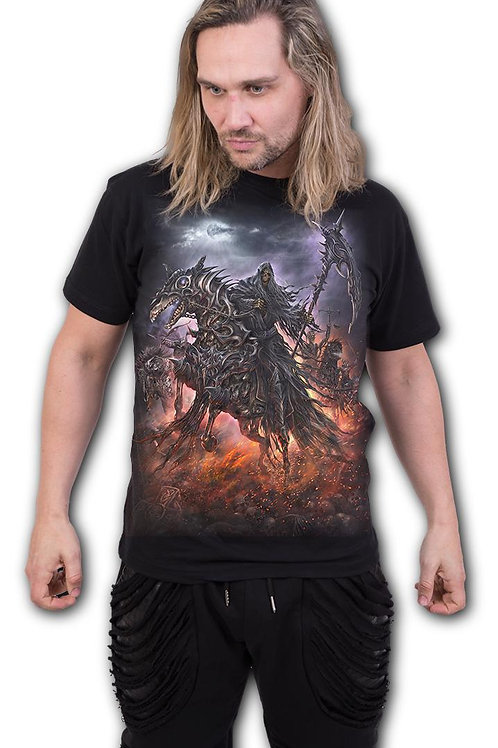 4 HORSEMEN - T-Shirt Black