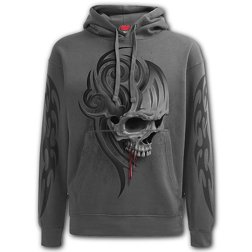 DEATH ROAR - Hoody Charcoal (Plain)