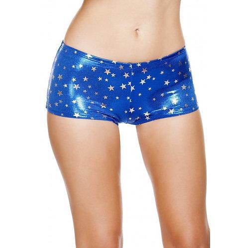 SH226 Silver Stars Boy Shorts