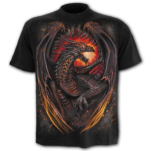 DRAGON FURNACE - Kids T-Shirt Black (Plain)