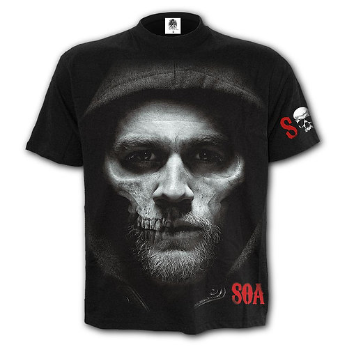 JAX SKULL - T-Shirt Black