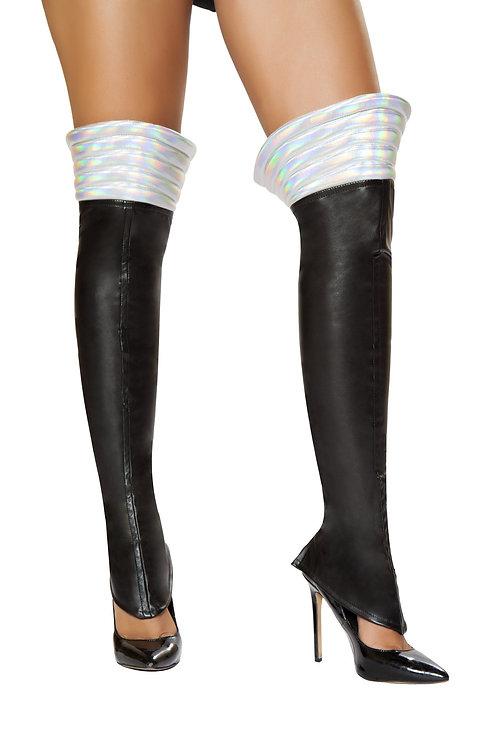 LW4738 - Black Space Girl Leggings