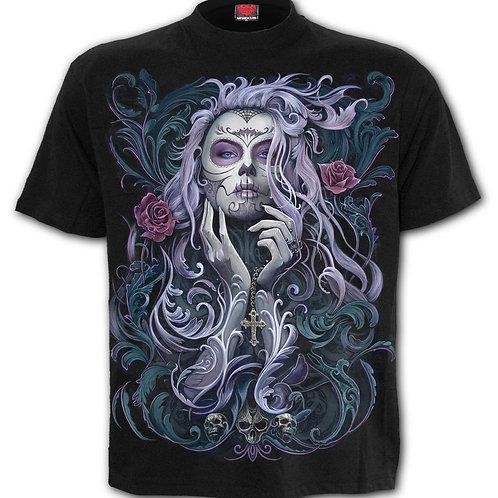 ROCOCO SKULL - T-Shirt Black