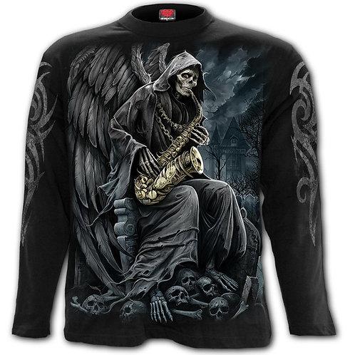 REAPER BLUES - Longsleeve T-Shirt Black