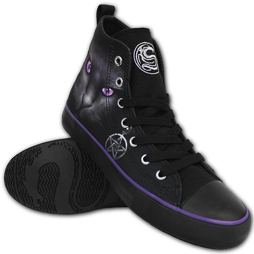 BLACK CAT - Sneakers - Ladies High Top Laceup