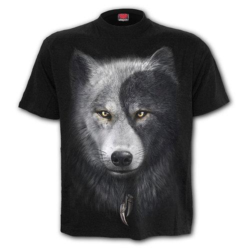 WOLF CHI - T-Shirt Black