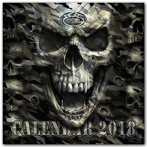 DARK ARTS 2018 - Calendar 40x40cm