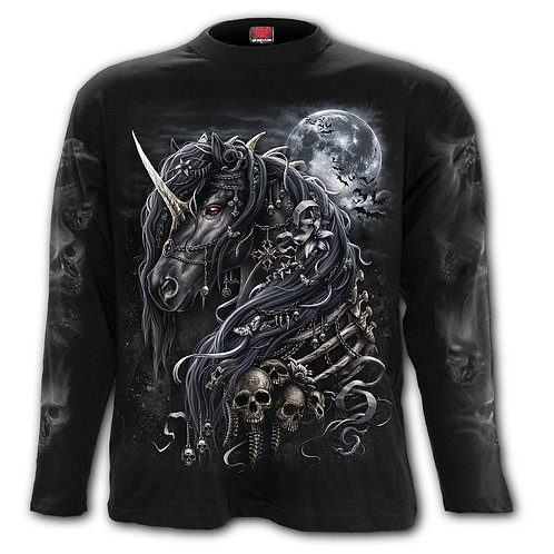 DARK UNICORN - Longsleeve T-Shirt Black