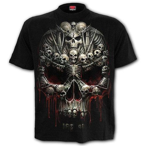 DEATH BONES - T-Shirt Black