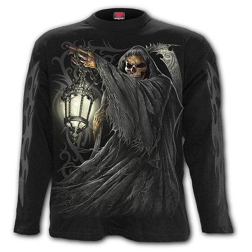 DEATH LANTERN - Longsleeve T-Shirt Black