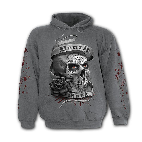 DEATH MASK - Hoody Charcoal (Plain)
