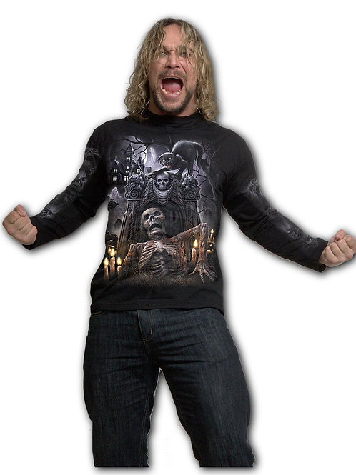 LIVING DEAD - Longsleeve T-Shirt Black