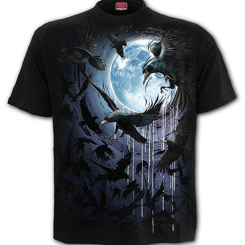 CROW MOON - T-Shirt Black
