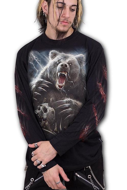 BEAR CLAWS - Longsleeve T-Shirt Black