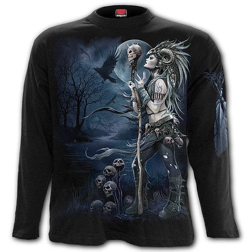 RAVEN QUEEN - Longsleeve T-Shirt Black
