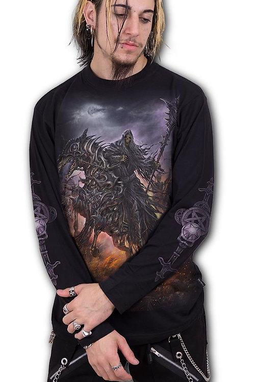4 HORSEMEN - Longsleeve T-Shirt Black