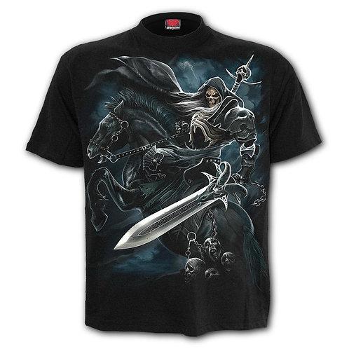 GRIM RIDER - T-Shirt Black