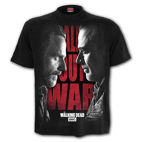 ALL OUT WAR - T-Shirt Black