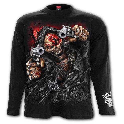 5FDP - ASSASSIN - Longsleeve T-Shirt Black