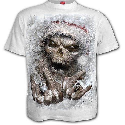 ROCK SANTA - T-Shirt White (Plain)