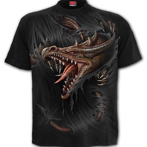 BREAKING OUT - Kids T-Shirt Black (Plain)
