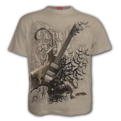 NIGHT RIFFS - T-Shirt Stone (Plain)