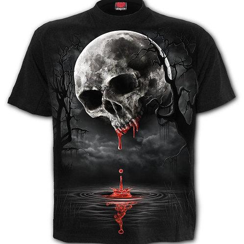 DEATH MOON - Front Print T-Shirt Black