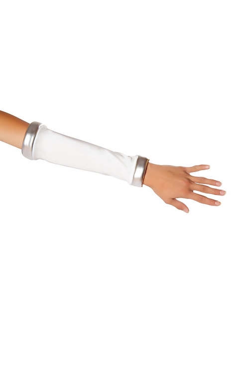 10077GL - White/Silver Space Commander Gloves