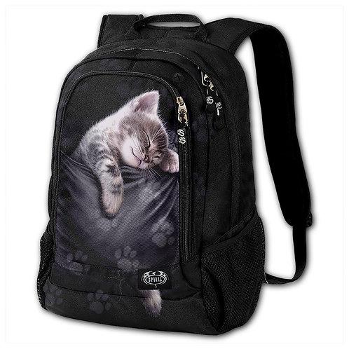 POCKET KITTEN - Back Pack - With Laptop Pocket