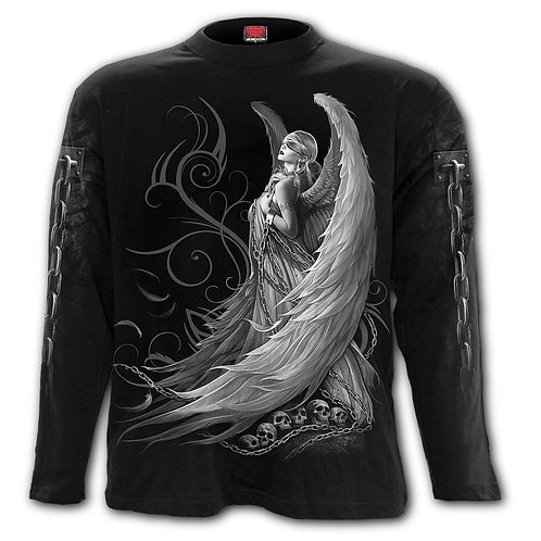 CAPTIVE SPIRITS - Longsleeve T-Shirt Black