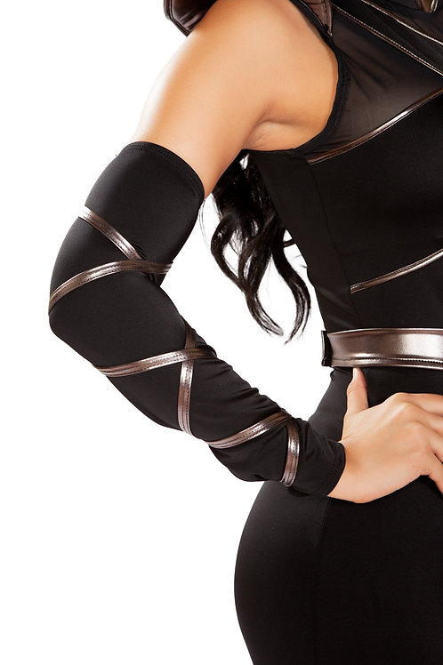 4900 - Pair of Arm Cuffs with Strap Detail