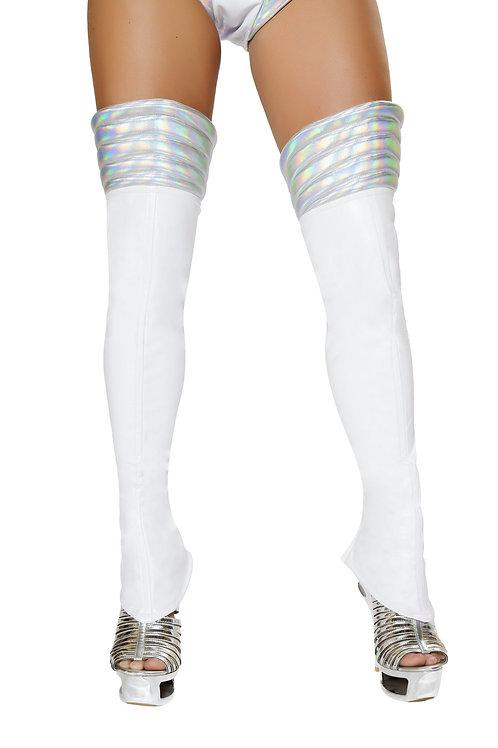 LW4739 - White Space Girl Leggings